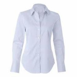 Camisa feminina básica manga c...