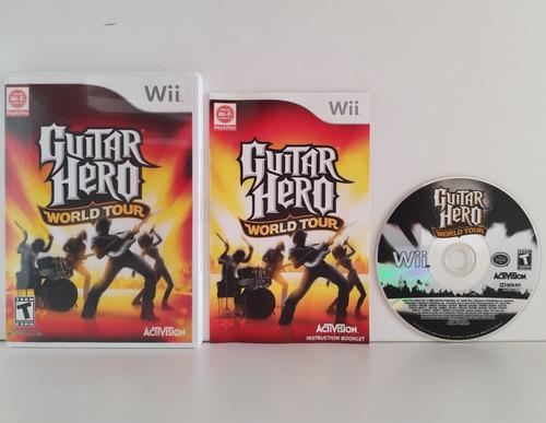 Guitar Hero World Tur Wii  Enviando Normalmente Original
