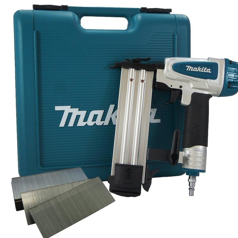 Kit Pinador Pneumático Af505 + 5.000 Pinos 20mm Makita