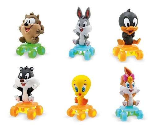 6 Bonecos Coleção Baby Looney Tunes Infantil -  Original