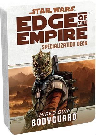 Bodyguard Deck Expansão Star Wars Edge Of The Empire Rpg Ffg Original