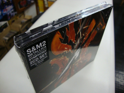 Cd Duplo - Metallica & San Francisco Symphony S&m2 - Lacrado Original