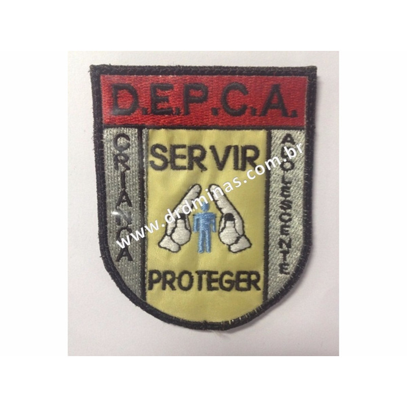 Patch / Distintivo Bordado - DEPCA