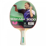 Butterfly Raquete Tenis Mesa Wakaba 3000 Profissional Nova