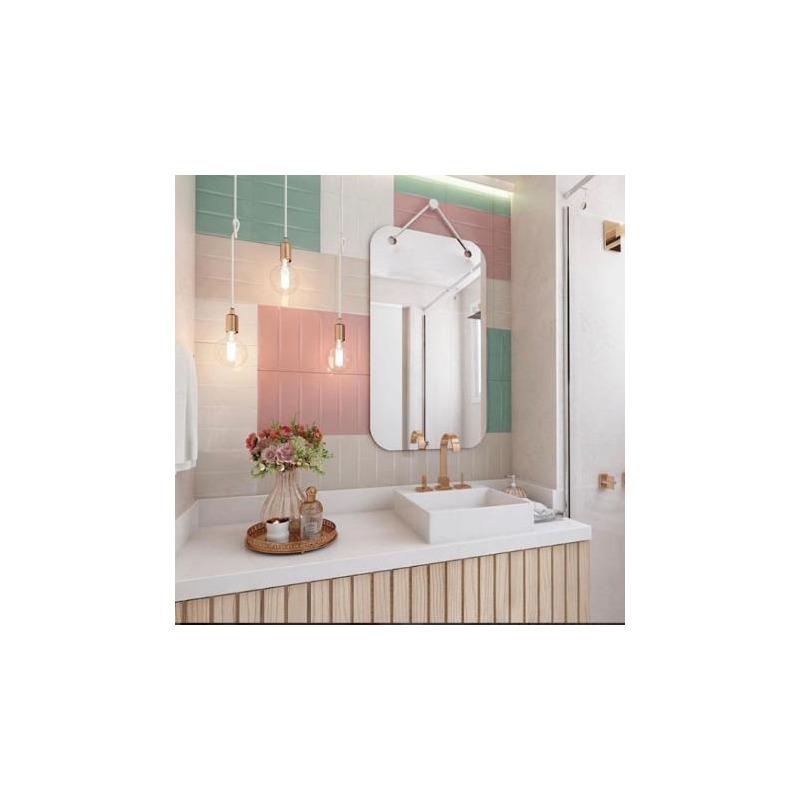 Espelho Zimmer Oruy Retangular 60cm x 90cm
