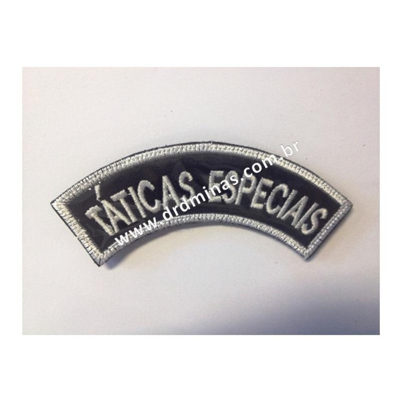 Distintivo Bordado Táticas Especiais - U