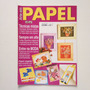 Revista Arte Em Papel Cartões Agenda Arranjo De Flores Bb757
