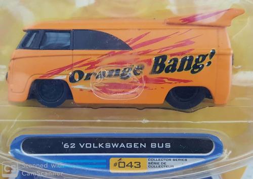 Jada 1/64 Vdubs 2007: '62 Volkswagen Bus ( Kombi ) Novo (a) Original