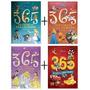 Kit Com 4 Livros 365 Historias Disney Capa Dura Almofadada