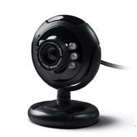 Webcam Multilaser Plug&Play Led Noturno 16MP