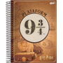 Caderno Colegial 1x1 80f Cd 66974 20 Harry Potter Jandaia