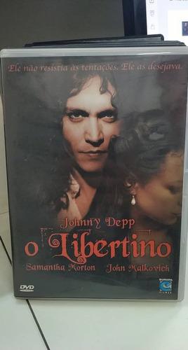 O Libertino -johnny Depp -dvd Original