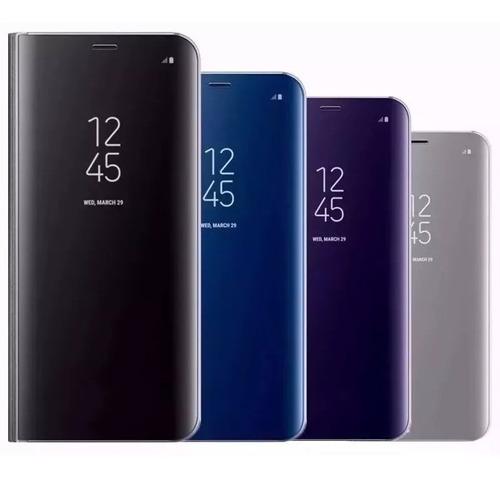 Capa Capinha Flip Espelhada Luxo Samsung Galaxy S7+pelicula Original