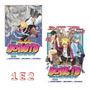 Boruto 1 E 2 Naruto Next Generations! Mangá Panini! Lacrado