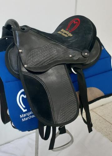 Sela Para Cavalo Profissional Mangalarga Machador Assento Original
