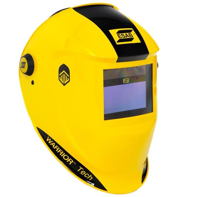 Máscara de escurecimento Aut Warrior Tech 9-13 Amarelo Esab