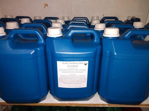 Ácido Clorídrico 32%(muriático) 5litros Original