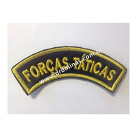 Distintivo Bordado Forcas Taticas - U