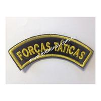 Distintivo Bordado Forcas Taticas - U