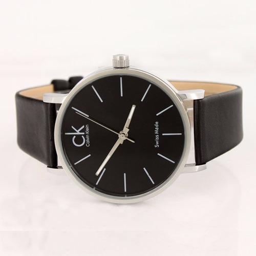 Comprar Relógio Calvin Klein Masculino K7621107 Pulseira De Couro ... c43ea56aa8