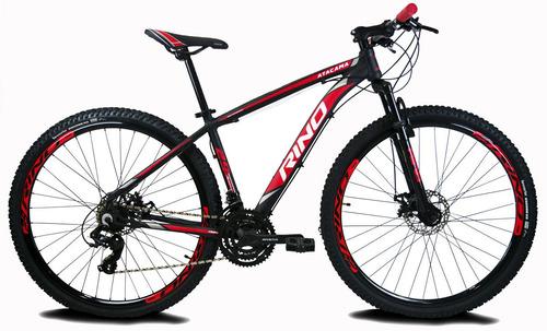 Bicicleta Aro 29 Rino Atacama - 21v + Yamada + Brinde Original