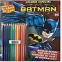Livro Batman Colorir Com Lapis De Cor