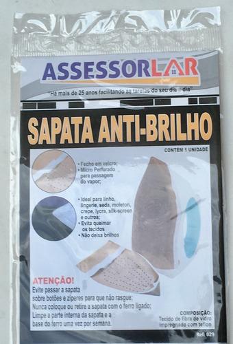 Sapata Anti Brilho Para Ferro De Passar Original