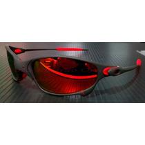 b752c1bc9 Comprar Oculos Juliet Xmetal Lent E Borracha Vermelha Red Fire U.s.a