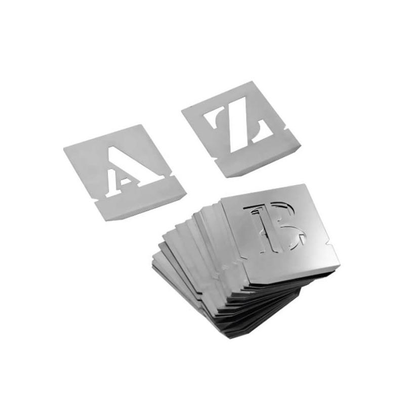 Alfabeto Chapa Vazada 50mm-Noll