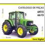 Catálogo De Peças Trator John Deere 6415 E 6615