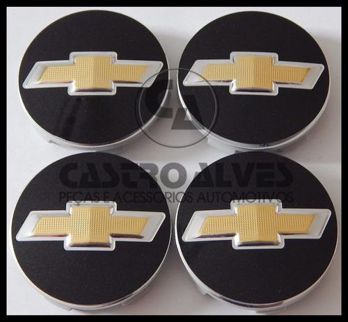 Kit Calota Tampa Roda Esportiva Scorro S215 Gm 5,6cm = 4 Pçs Original