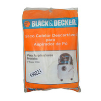 Kit Filtro Black&Decker com 3 Unidades para Super 1100