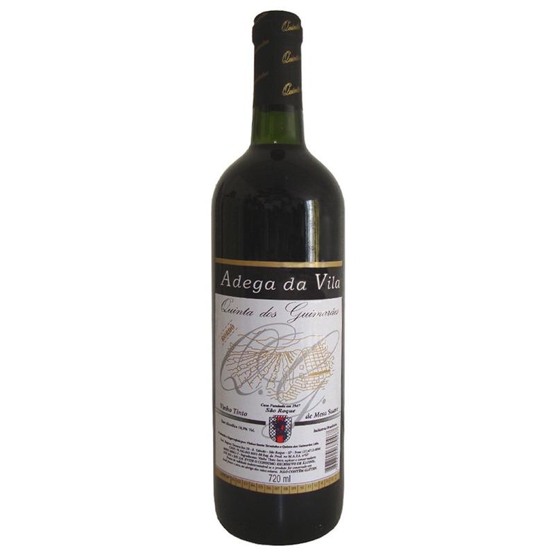Vinho Tinto Suave Bordô 720ml - Adega da Vila