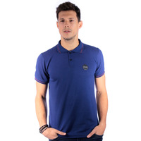 Polo Long Island Basic Azul