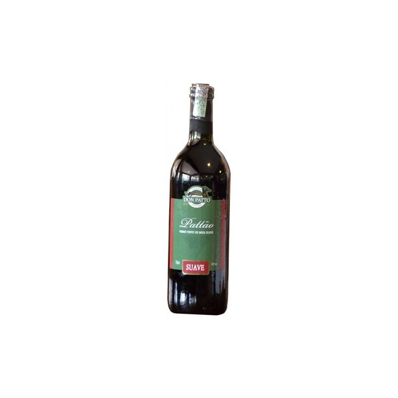 Vinho Tinto Suave Izabel/Bordô 750ml - Don Patto