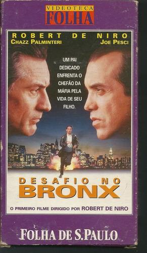Filme Desafio No Bronx Vhs Legendado Videoteca Folha/