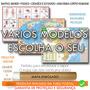 Mapa Mundi Brasil Pais Corpo 120cm Enrolado Escolha