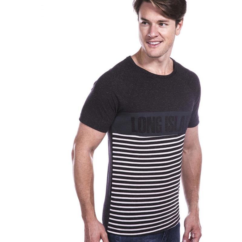 Camiseta Long Island IRT Preta