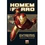 Hq Marvel Deluxe Homem De Ferro: Extremis panini (lacrado)