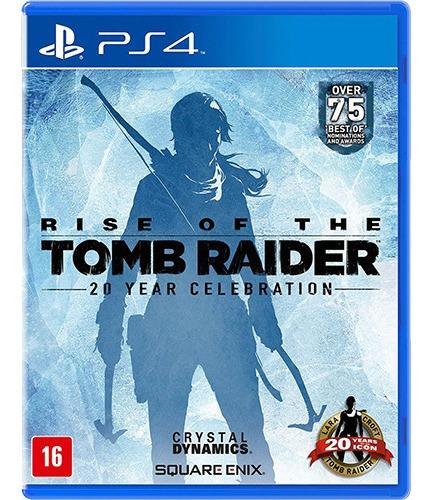 Rise Of The Tomb Raider - Ps4 Midia Fisica Original
