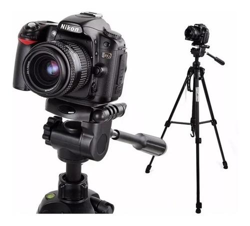 Tripé Profissional Fotográfico Universal Nikon Canon 1,80 Mt Original