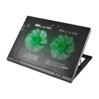 Suporte para Notebook Gamer com Led Verde Warrior Multilaser - AC267