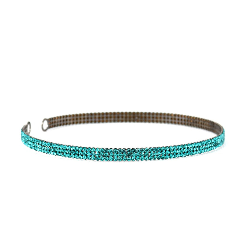 CHOCKER CRISTAL PRECIOSA BLUE ZIRCON - CL020074