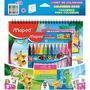 Kit Livro De Colorir Com Canetinhas Maped