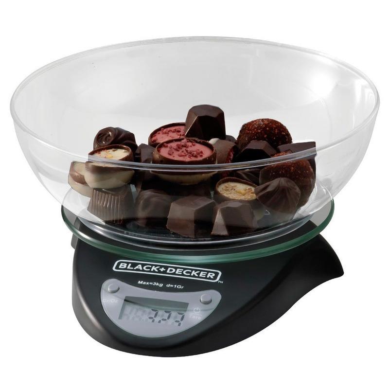 Balança de Cozinha Digital Black+Decker - BC250