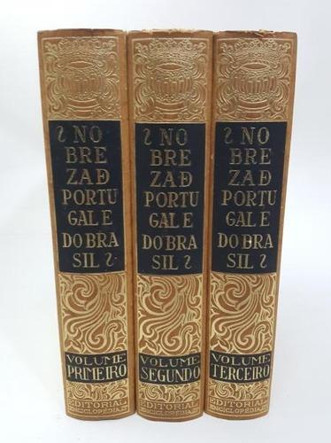 Nobreza De Portugal E Brasil - Afonso E. Zúquete - 3 Volumes