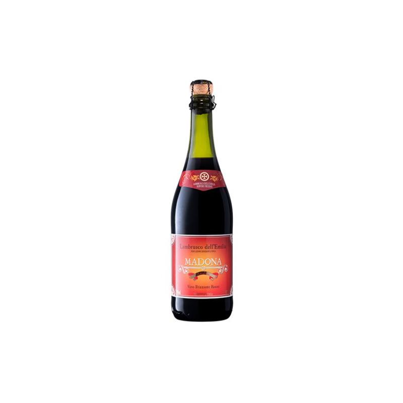 Vinho Frisante Lambrusco Amabile Tinto 750ml - Madona