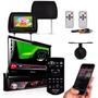 Dvd Retratil Pioneer 7 Pol Usb Bluetooth Encosto Camera
