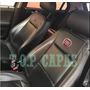 Capa Banco 100% Couro Fiat Strada Cs 1998 A 2019 Brinde