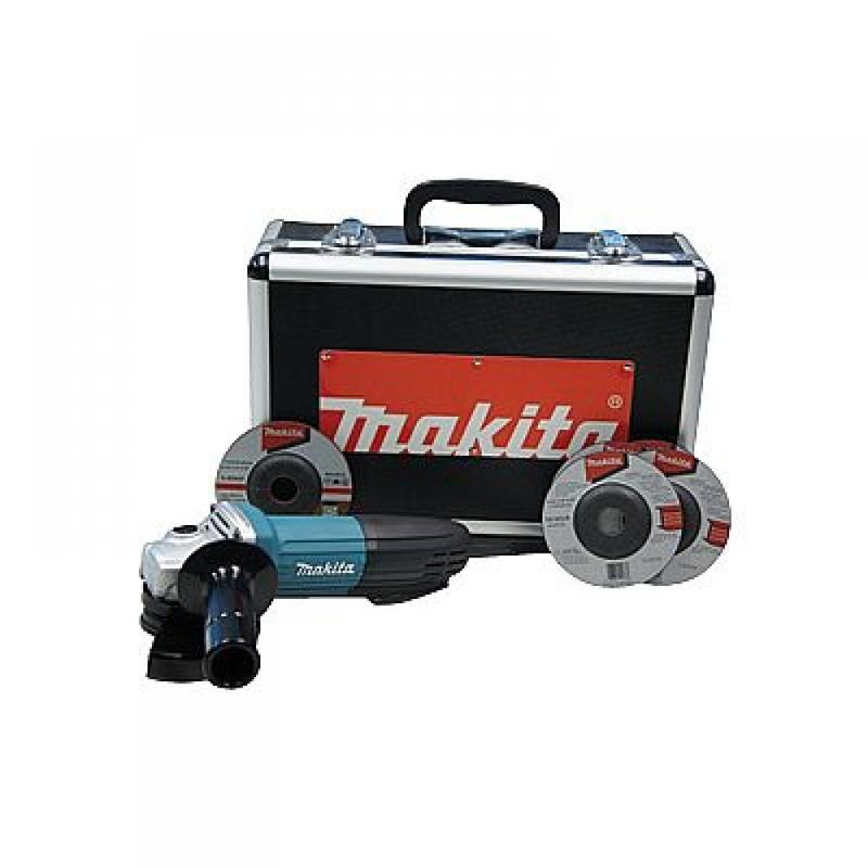 "Esmerilhadeira Angular 115 mm (4.1/2"") 720 Watts - GA4534KX - Makita - 110 Volts"